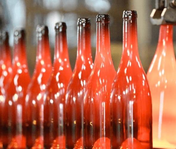 Photo de la création de bouteilles