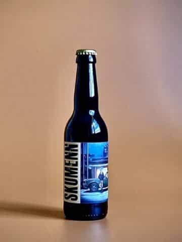 Photo d'une bouteille de bières Long Neck de 33 cl teinte ébène