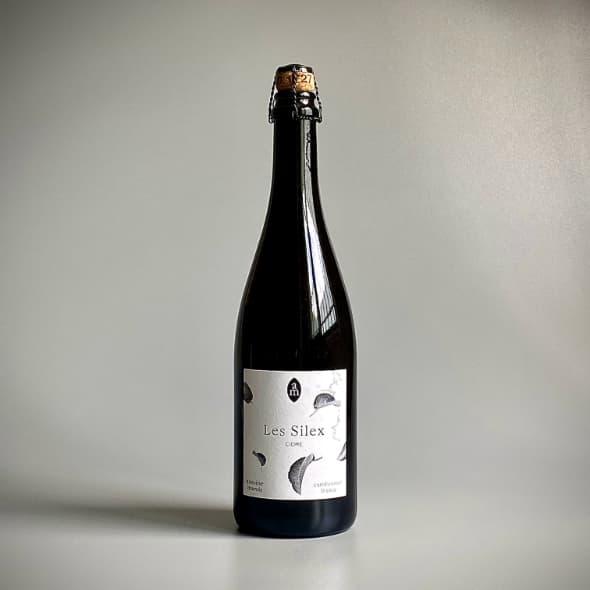 Photo d'une bouteille de cidre cuvée premium crément de 75 cl teinte chêne