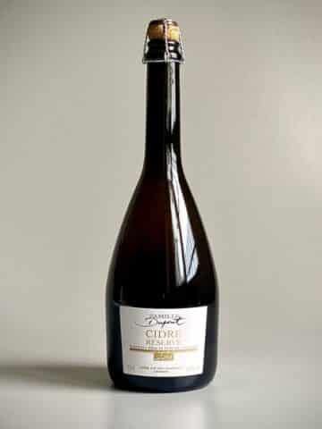 Photo d'une bouteille de cidre Prestige Chorus de 75 cl teinte antique